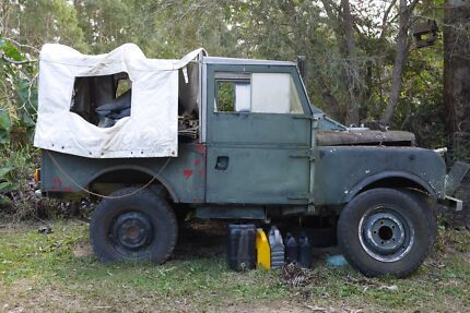 1954 Land Rover (4X4) Truck landrover vintage project galvanised Black Mountain Noosa Area Preview