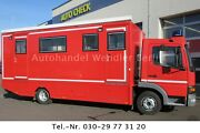 Mercedes-Benz Atego 815 L 6m ISO Koffer 2 Treppen / Diffsperre