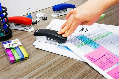 Two Tone Standard Stapler 266 With 500 Ct. Staples Excellent And High-quality