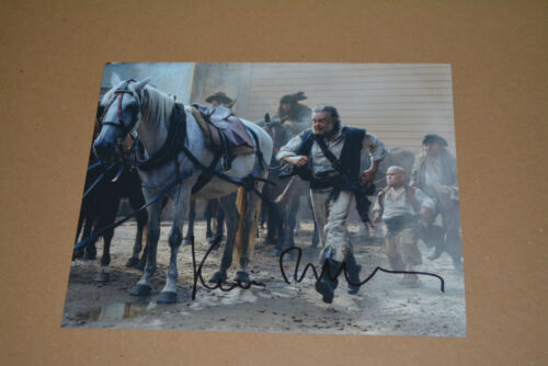 KEVIN MCNALLY  signed  Autogramm 20x25 cm In Person FLUCH DER KARIBIK