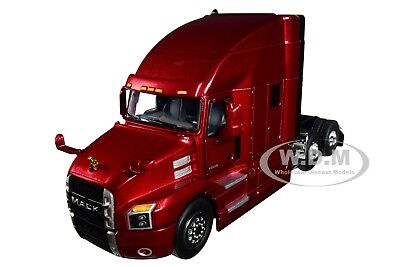 MACK ANTHEM SLEEPER CAB LACQUER RED 1/50 DIECAST MODEL BY FIRST GEAR 50-3402