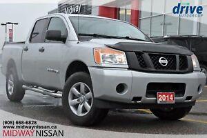 2014 Nissan Titan S 4X4 CREW CAB. NEW TIRES!