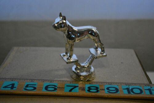 Metal Boston Terrier - Boxer Dog Trophy Top - NEW
