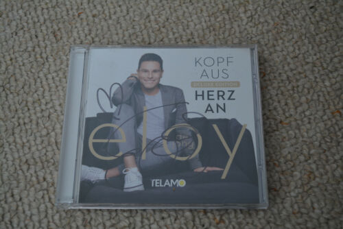 ELOY DE JONG signed autograph In Person CD Cover CAUGHT IN THE ACT