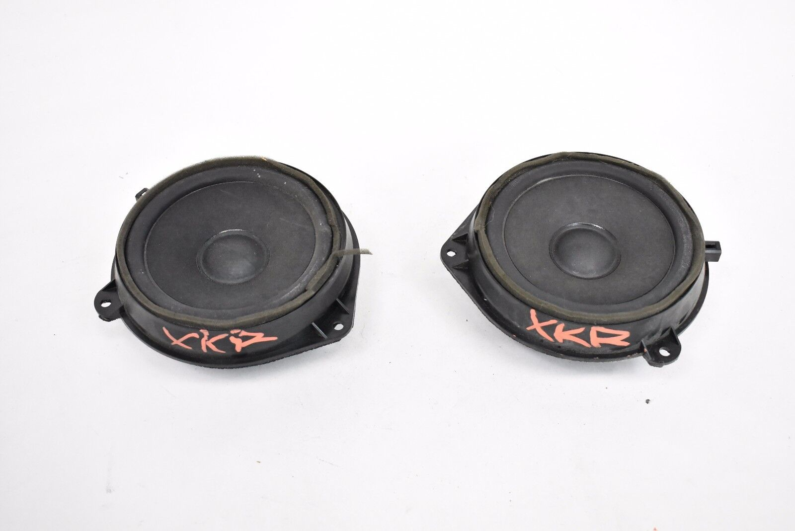 Jaguar XK 07-15 Set Left Right Premium Door Woofer Speaker 6W8318808BA C2P24544