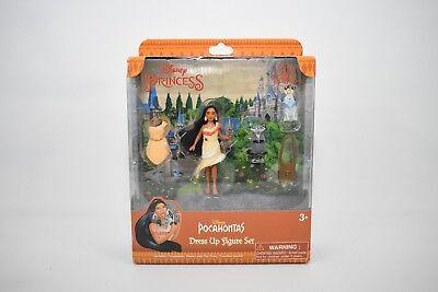Pocahontas Dress Up (Disney Parks Pocahontas Dress Up Set with Pocahontas Meeko Percy Flit)
