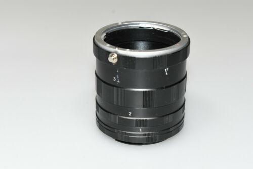 CANON EF MOUNT MACRO EXTENSION TUBE SET