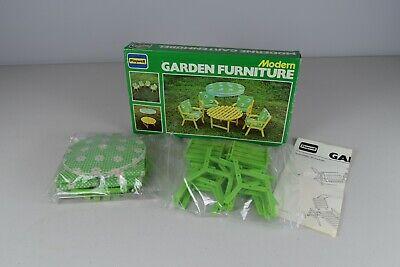 Vintage Playwell Modern Garden Furniture - Dolls house VGC