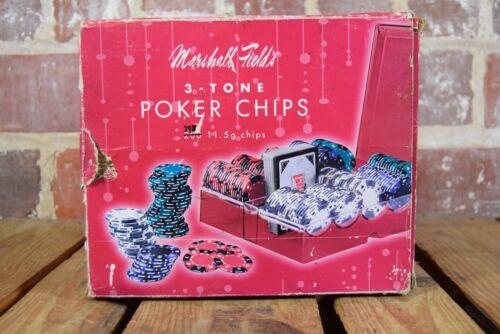 2005 Marshall Field 3-Tone Poker Chip Set