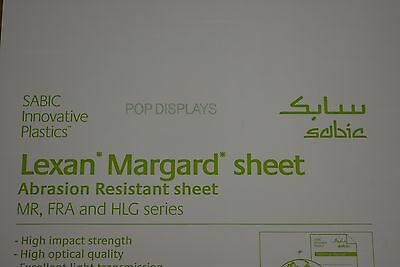 Lexan Sheet Scratch Resistant Mr-10 Polycarbonate Clear 14 X 48 X 24