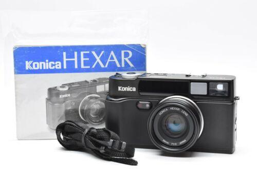 [App NEAR MINT] Konica Hexar AF Black Rangefinder Camera 35mm f/2 Lens JAPAN
