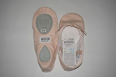 NWT Sansha Pink Child Star-split Canvas Split-Sole Ballet Shoes