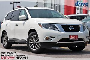 2014 Nissan Pathfinder SL SL FWD - Leather|Bluetooth|Backup Cam