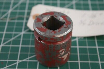 Qty 1 Wright 6836 34 Drive 1-18 Standard Impact Socket 6-point Wrench Usa