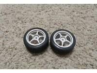 Tamiya T3-01 Rear Wide Semi-Slick Tires 2 Pieces. TAM54830