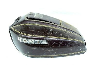 HONDA 1977 CB750 CB 750 A HONDAMATIC FUEL CELL GAS TANK GASTANK & LID COVER CAP
