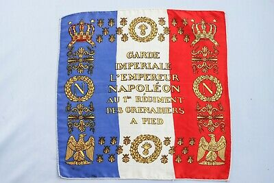 Vintage Replica French Napoleon Imperial Guard Battle Flag