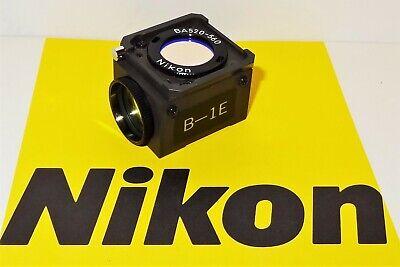 Nikon B-1e Fluorescent Microscope Filter Cube For Labophot Optiphot Microphot