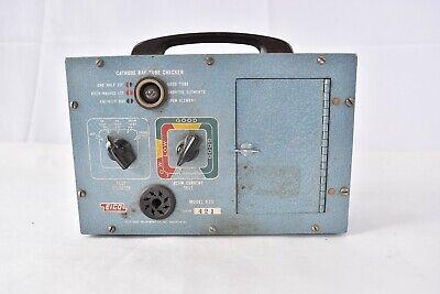 Vintage Eico Cathode Ray Tube Checker Model 630 - Untested