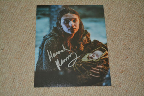 HANNAH MURRAY signed Autogramm 20x25 cm In Person GAME OF THRONES