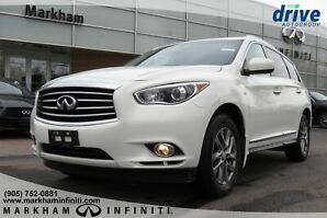 2014 Infiniti QX60 CPO|Leather|BackupCam|Sunroof|7Pass|