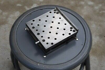 Spi Swiss Precision Sine Sp-66-s1 Plate 6 X 6 Machine Tool Tap Hole 14x20