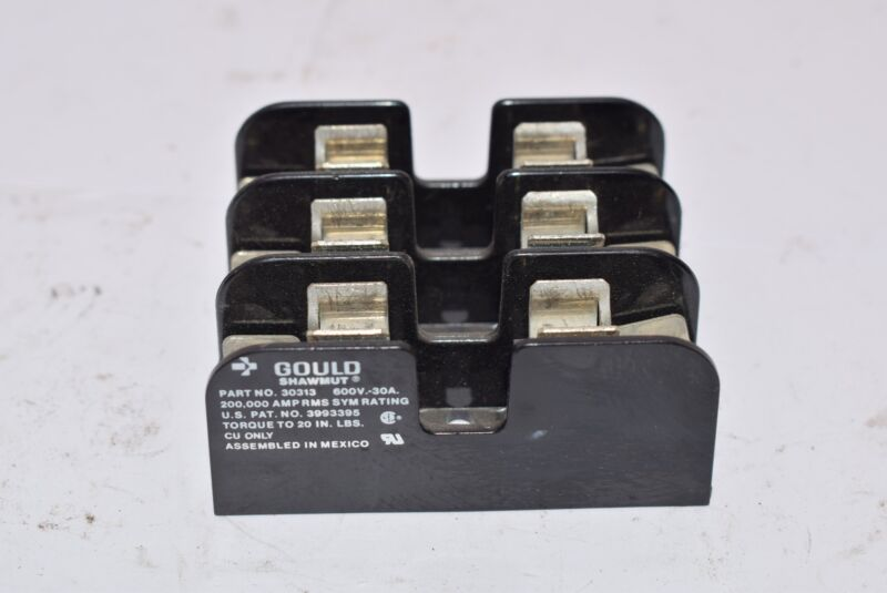 Gould Shawmut 30313 600V-30A 200,00 AMP RMS