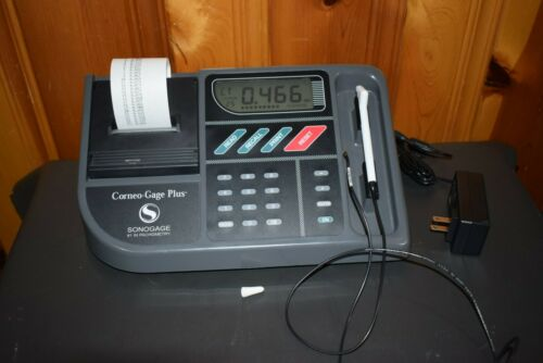 Sonogage Pachymeter pachometer with a built-in printer