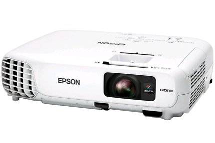 Epson EB-S18 1080p Full HD Portable Projector W/Wall-Roof Mount
