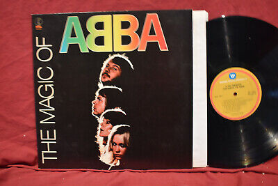 ABBA LP, The Magic Of ABBA, K-TEL NU 9510, 1980, ORIGINAL, LP