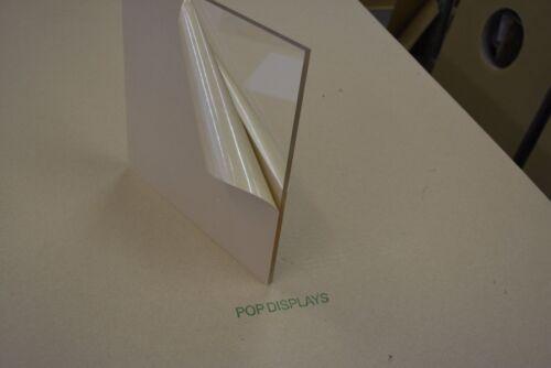 Clear Acrylic Plexiglass 1/8 x 8 x 12 Plastic Sheet