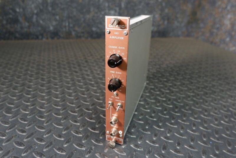 Ortec Model 485 Amplifier NIM BIN Module