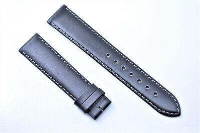 Original Tissot 1853 band PR 50 Uhrenarmband 18 mm Schwarz Echtleder Armband