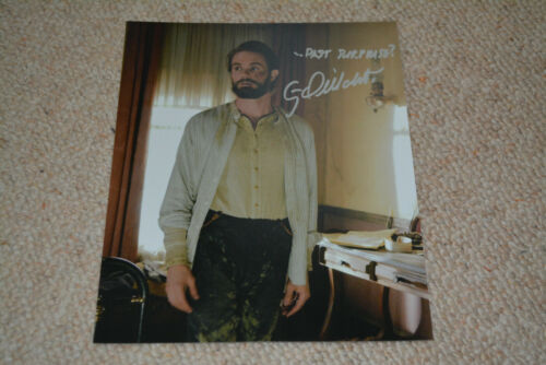 GARRETT DILLAHUNT  signed autograph In Person 8x10 DEADWOOD + Quote