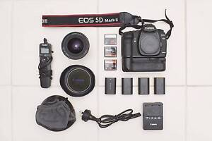 Canon 5D mkii w/ 16-35mm f2.8L II + accessories Coopers Plains Brisbane South West Preview
