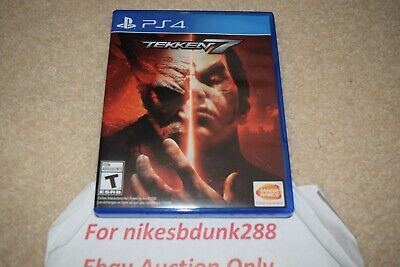 Sony Playstation 4 PS4 Tekken 7 Fighting Game Rated T Complete