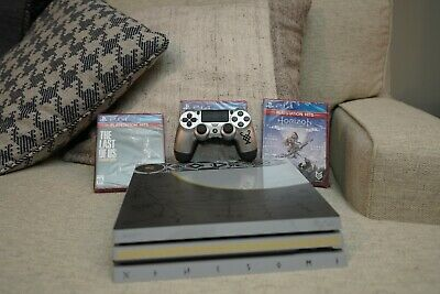 Sony PlayStation 4 Pro Limited Edition Leviathan Gray Console - God of War PS4