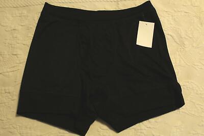 Honeydew Women's Boy Short Pajama Shorts SV3 Black Medium NWT