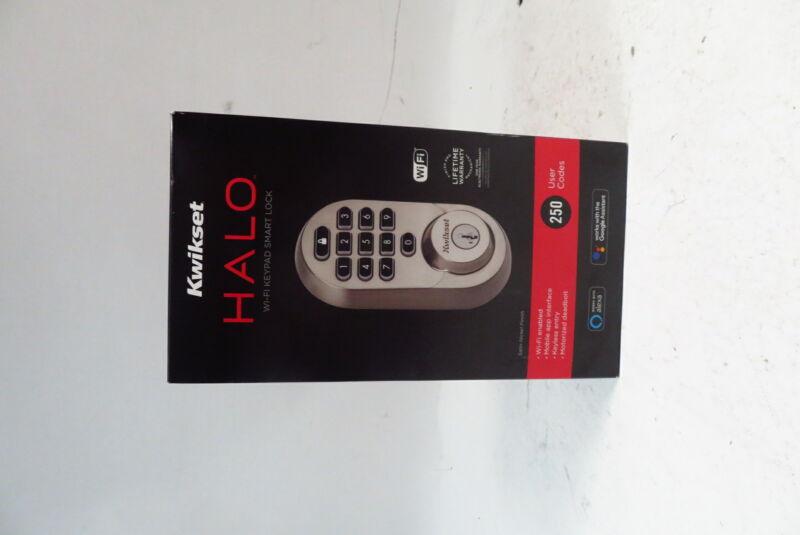 Kwikset Halo SmartKey Electronic Keypad Keyless Entry Deadbolt with WiFi