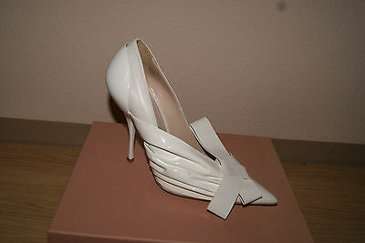 Miu Miu by Prada Abendschuhe Gr. 39 gold Damenschuhe Pumps Schuhe NEU