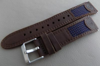 New Mens Timex Expedition Brown Water Resistant Leather 19mm Sport Watch Band Brown Expedition Watch Band