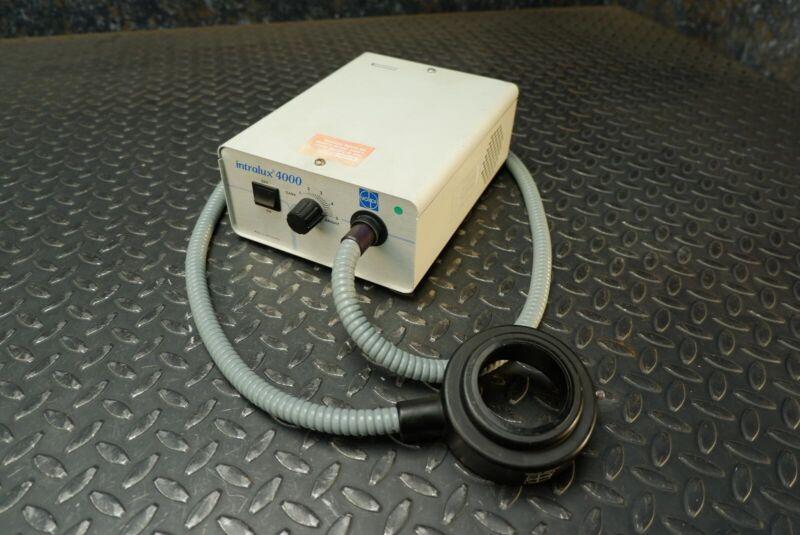 Volpi Intralux 4000 Illuminator & Light Ring