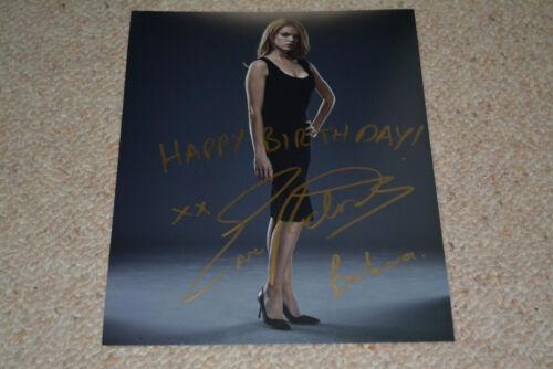 ERIN RICHARDS signed Autogramm In Person 20x25 cm GOTHAM Unikat!! HAPPY BIRTHDAY