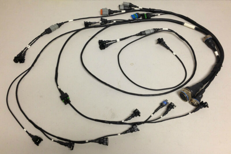 Motec Porsche Engine Harness
