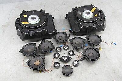 2010-2016 BMW 535i GT F07 Audio System Speaker Set Subwoofer Tweeter Door Set
