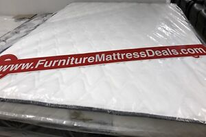 """NEW Queen Size 60""""x78""""x8"""" thick tight-top Coil Mattress $280"""