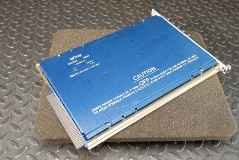 LeCroy 3521 MCS CAMAC Module +/-6V