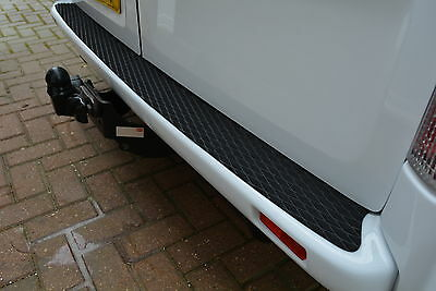 VAUXHALL VIVARO UP TO 14 REAR BUMPER PROTECTOR  NON SLIP SAFETY TREAD STRIP