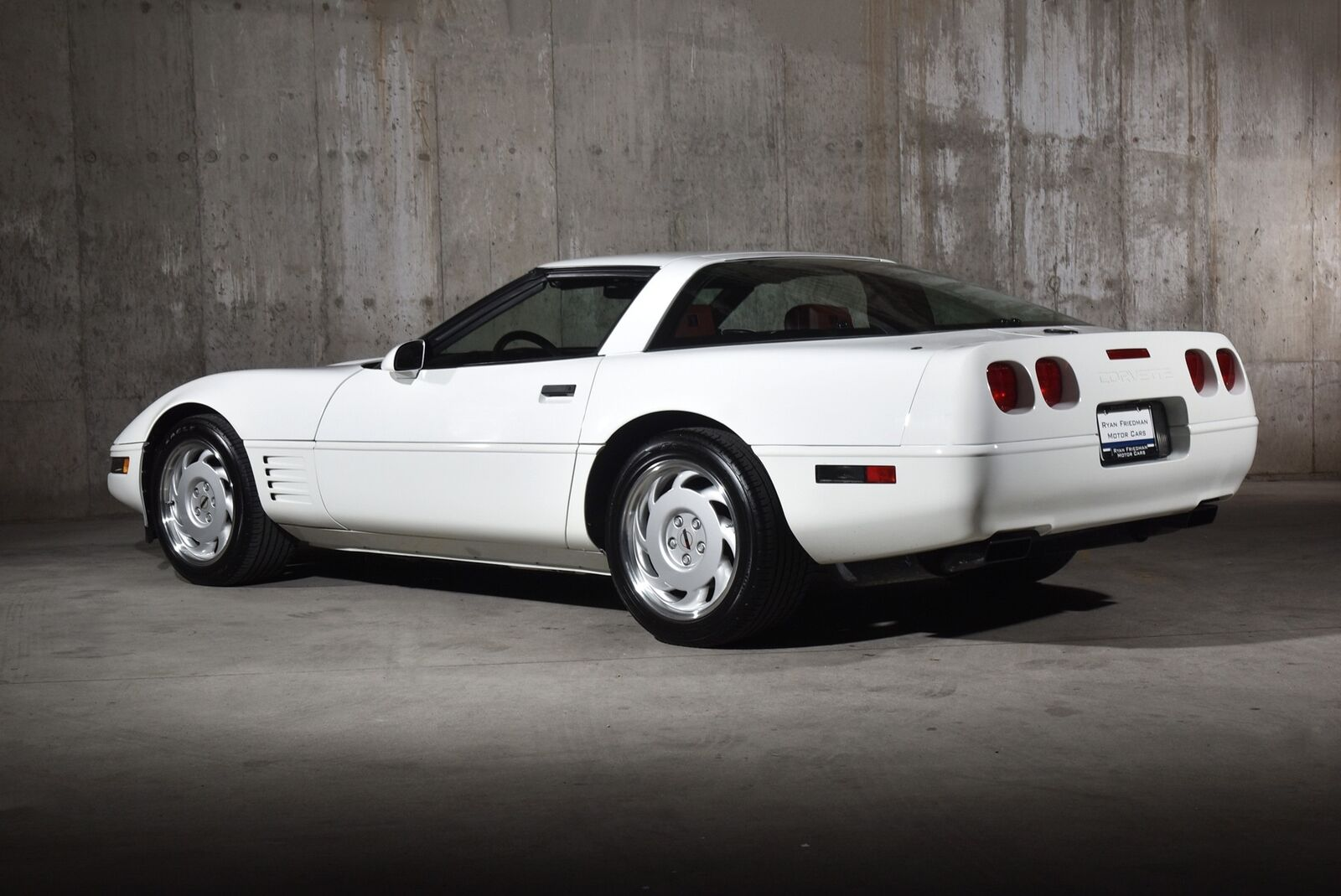 1992 White Chevrolet Corvette   | C4 Corvette Photo 9