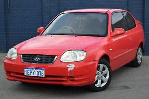 2006 HYUNDAI ACCENT 3 DOOR HATCHBACK Beckenham Gosnells Area Preview